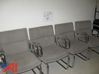 (4) Cushioned Chairs