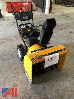 "28"" Cub Cadet Snowblower with Electric Start"