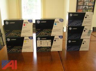 (7) Boxes of Laserjet Printing Toner