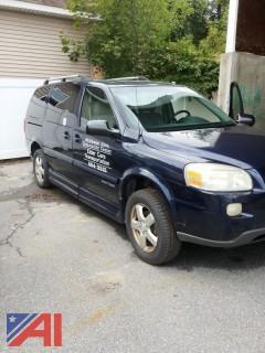 2007 Chevy Uplander Handicap Van
