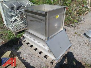 Charcoal Services Corp S.S. Fume Hood