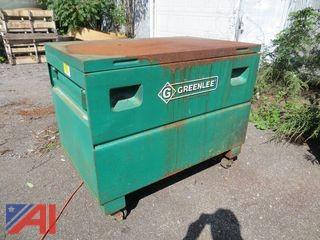 Greenlee Rolling Portable Tool Gang Box on Wheels