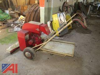 Advance Roamer Power Vacuum Sweeper