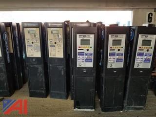 (5) Cale MP 104 Parking Meters