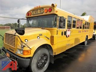1998 International 3800 Training School Bus