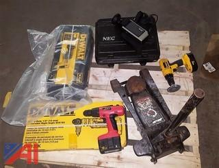 3 Ton Jack & Assorted Power Tools