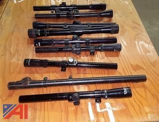 (9) Assorted Rifle Scopes