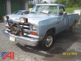 1987 Dodge Power Ram 250 Pickup