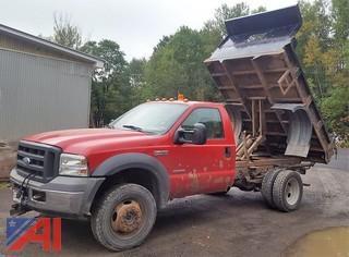 2005 Ford F450 XL Super Duty Dump Truck