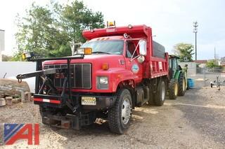 1998 GMC Top Kick C7H042 Dump with Plow