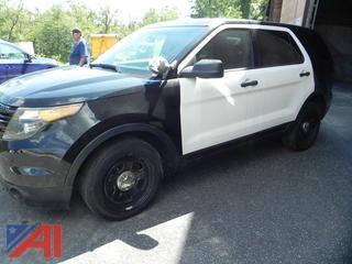 2013 Ford Explorer 4 Door/Police Vehicle
