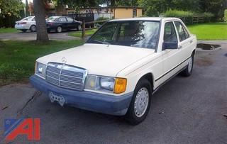 """1984 Mercedes """"Baby"""" Benz 190E 4 Door Sedan"""