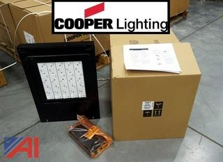 (6) New TLM Talon LED Lighting Fixtures & New Surplus Metal Halide Bulbs