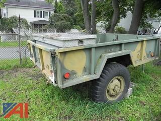 1966 M101A1 3/4 Ton Army Trailer