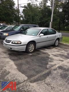2003 Chevy Impala 4 Door
