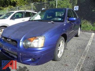 2004 Subaru Impreza 4 Door