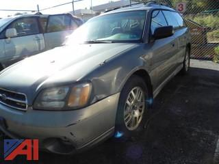 2002 Subaru Outback 4 Door