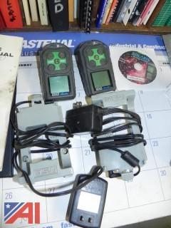 (2) MSA Solaris Mulit-Gas Detectors