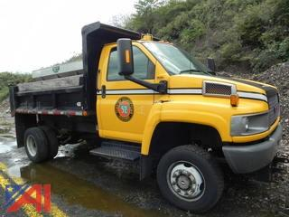 2009 GMC C5C042 Dump with Plow and Spreader