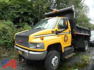 2008 GMC C5C042 Dump Truck with Plow