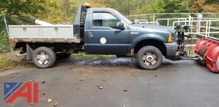 2006 Ford F250 SD Flat Bed Pickup
