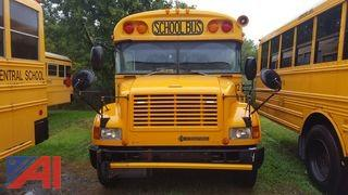 2004 International 3800 Blue Bird Mini School Bus with Wheel Chair Lift
