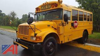 2003 International 3800 Blue Bird Mini School Bus