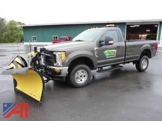 **4% BP** 2017 Ford F350 XL Pickup with Plow