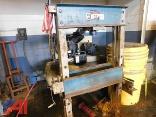 OTC 25 Ton Shop Press