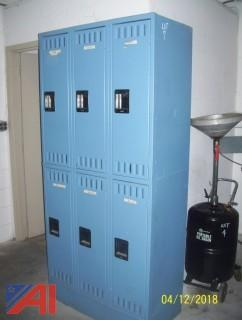 Tennsco Locker Unit