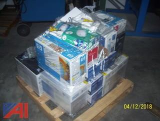 Pallet of Toner Cartridges and More