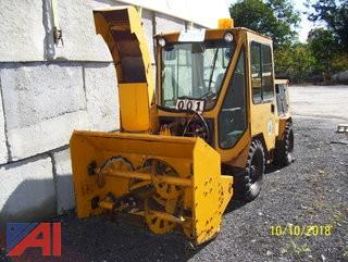 1993 Trackless MT5 Sidewalk Tractor