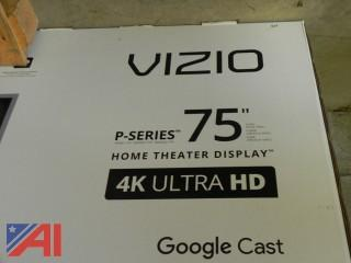 "Vizio 75"" 4K Ultra HD Flat Screen TV"