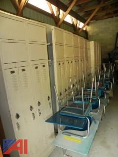 (Approx 50 +) Metal Lockers