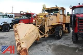 **Spare Engine and Transmision IS NOT Included, Items in Lot 3** 1982 Oshkosh M-4-1700 Dump Truck with Plow