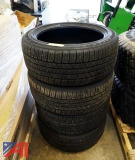 (4) Used Goodyear Eagle LS2 235/45R18 Tires