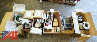 (6) Boxes New & Used Heating Service & Related Parts