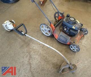 (2) Pc Husqvarna Mower & Echo GT-2400 Gas Trimmer