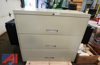 Assorted Office Cabinets & Related Items