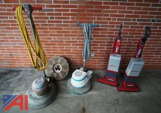 (4) Pc Floor Machines & Vacuums