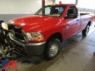 2011 Dodge Ram 2500 Pickup with Plow