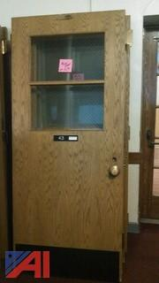 (40) Classroom Style Doors