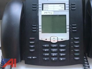 (7) Aastra / Mitel  6735i VoIP Phones
