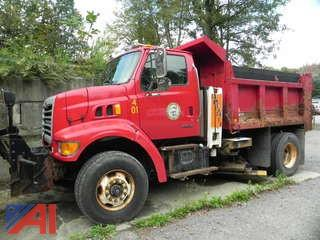 2002 Sterling L7500 Dump Truck with Salter