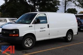 2011 Chevy Express 2500 Cargo Van