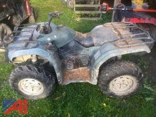 2007 Yamaha Grizzly 400 ATV