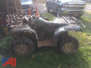 2007 Yamaha Grizzly 450 ATV