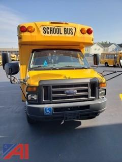 2009 Ford E450 Collins Short School Bus with Wheel Chair Lift