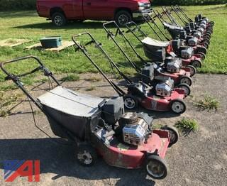 (10) Toro Walk Behind Lawn Mowers