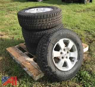 (4) Mastercraft Snow Tires